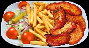 Kana ranskalaisilla